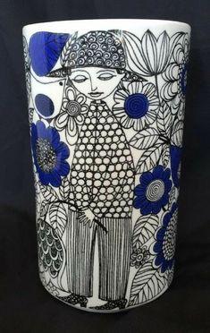 Mid Century Style, Mid Century Design, Porcelain Ceramics, Ceramic Pottery, Surface Art, Vintage Kitchenware, Vintage Cups, Marimekko, Scandinavian Style