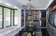Closet Inspiration by Jeff Lewis Design