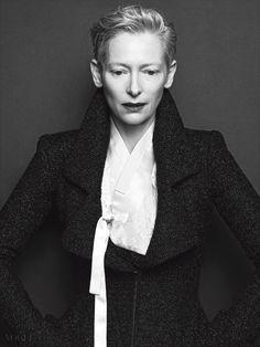 Tilda Swinton // Vogue Korea