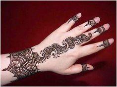Stylish Mehndi Designs : Easy To Draw Mehndi Designs   WFwomen