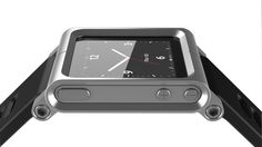 LunaTik iPod Nano watch conversion kit