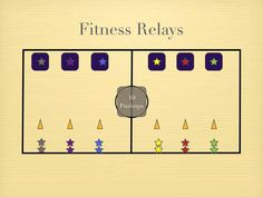 Physical Education Games - Fitness Relays (+playlist)