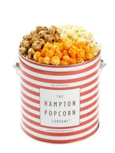 Popcorn Tin: Pick up a movie and bring this decorative popcorn tin for a night in with mom.