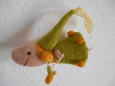 CitronenKlee - Erntefee Citronella von *www.filzundform.dawanda.com* auf DaWanda.com