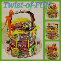 When it comes to candy...we have  what you need. #follow us to #candyland www.etsy.com/shop/twistoffunllc  #candy #gifts #presents #kids #weddings #parties #arrangements #getwell #birthdays #work