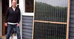 How to Build a DIY Solar Air Heater from Old Soda Cans