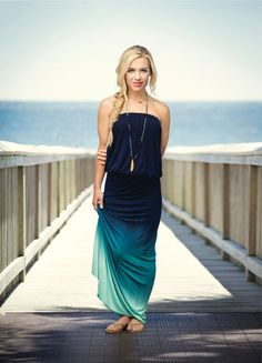 maxi dresses galore; little mermaid straight from the sea