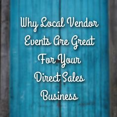 Why Local Events Could Be The Boost You Need For Your Direct Sales Business