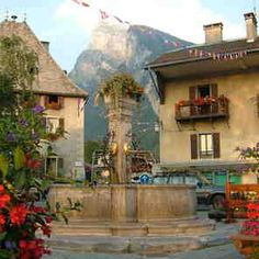the town fountain?