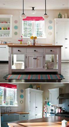A Happy Kitchen - by @Wesley Archambault Ellen Design & Millwork