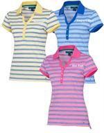 Tommy Hilfiger | Ladies Golf Shirts | Lexie Stripe Polo