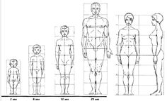 I think my characters are the size/balance of the oldest kid Proportions du corps (canon à 8 têtes) - Intellego. Proportions Du Corps, Drawing Proportions, Body Proportions, Human Body Drawing, Human Anatomy Drawing, Human Art, Drawing Lessons, Drawing Tips, Anatomy Reference