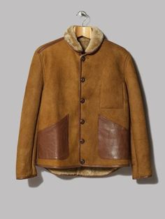 Y.M.C. Brainticket Sheepskin Jacket (Tan)
