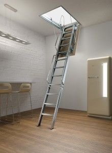 our cantebury loft ladder is a 3 section folding metal ladder available in a number models to suit different floor to ceiling heights and ceiling holes