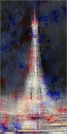 City Art Paris Die Eiserne Lady - Melanie Viola