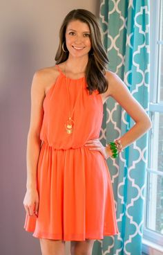 Oh joy, this gorgeous coral orange dress is a stunner! Exclusive JD6806NCORALCreamsicle Orange Dress prom dress is so classic and extremely versatile! The simple top leads the eye to a cinched waistband.