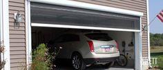 Retractable Garage Door Screens - Ventilation and Pest Protection