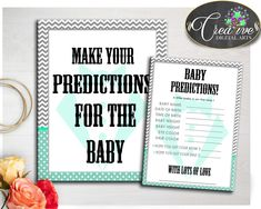 Our new product: PREDICTIONS FOR B.... Check it out here: http://snoopy-online.myshopify.com/products/predictions-for-baby-little-man-gentleman-sign-and-cards-activity-printable-for-baby-boy-shower-in-mint-green-gray-instant-download-lm001