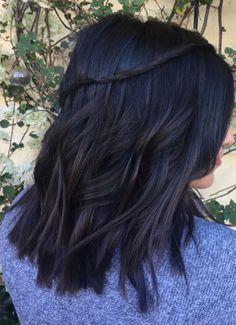 Waterfall Braid Hairstyles 2018 Ideas on Dark Wavy Hair