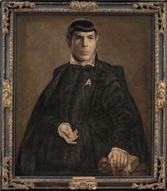 STAR TREK RENAISSANCE - SPOCK PAINTED BY GRECO