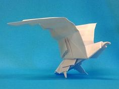 How To Make An Origami Eagle - YouTube