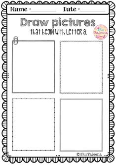 Letter of the Week A is designed to help teach letter A for children who are learning their letters. You can use as a class time worksheet or homework. This set contains pages of variety activities, games and worksheets. It will help to teach your students to recognize, read, write, solve, and listen for the beginning sound of that letter. Preschool | Kindergarten | Kindergarten Worksheets | First Grade | Alphabet | Alphabet Letter of the Week | Phonics | Free Lessons | Morning Work
