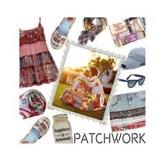 """""""All Patched Up: Patchwork"""" by mia-christine ❤ liked on Polyvore featuring Faith Connexion, Chanel, Rocket Dog, Ray-Ban, Fetco, Vismaya, Enchanté and patchwork"""