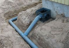 Backyard Drainage, Landscape Drainage, Foundation Drainage, Foundation Repair, House Layout Plans, House Layouts, Plumbing Drains, Home Electrical Wiring, Plumbing Installation