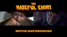 We all know that Quentin Tarantino has an encyclopedic knowledge of film, constantly referencing movies in his own work. Now his latest western 'The Hateful Eight' is released, it is time to look for even more movie references and tributes.  FILMS: 'Stagecoach' (1939) 'The Magnificent Seven' (1960) 'Lawrence of Arabia' (1962) 'The Good, The Bad and The Ugly' (1966) 'The Great Silence' (1968) 'Last House on the Left' (1972) 'The Thing' (1982) 'Reservoir Dogs' (1992) 'Inglourious Ba...