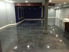 Beautiful Epoxy Paint for Basement