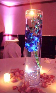10 Blanc Double DEL Tea Light Submersible Floralyte Centerpiece Underwater Mariage