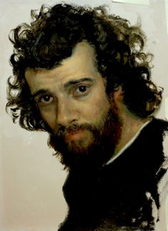 Painting by Cesar Santos - Self-Portrait Beauty In Art, Male Beauty, Figure Painting, Painting & Drawing, Cesar Santos, L'art Du Portrait, Portrait Paintings, Classical Realism, American Artists