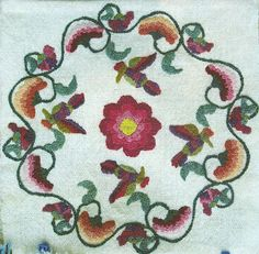 Colcha Embroidery, entered in 2012 Traditional Spanish Market Fair in Sante Fe