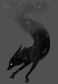 Encontre este Pin e muitos outros na pasta Space Fox Art de LittleFox - Hollow Knight - Arte Creature Drawings, Animal Drawings, Wolf Drawings, Furry Art, Art Fox, Mythical Creatures Art, Arte Obscura, Anime Wolf, Cute Drawings