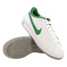 Nike Main Draw White Green Youth Trainers Nike. $42.00
