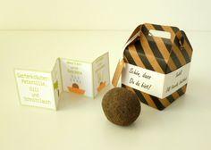 Gastgeschenke - Samenbombe Gartenkräuter, Seedball Gastgeschenk - ein Designerstück von Deko-und-Papier bei DaWanda
