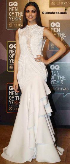 Gaurav Gupta Gown - Deepika GQ Men of The Year Awards 2015