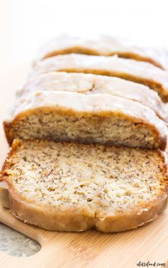 This maple glazed banana bread is an updated take on the classic banana bread recipe! This recipe begins with my mom's banana bread recipe, and ends with a sweet maple glaze that is out of this world delicious! Your life may never be the same again. Happy fall, everyone! It's a beautiful day isn't it?continue reading ...