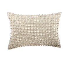 Decorative Oblong / Lumbar Rectangle Throw Pillow Covers Accent Pillow Couch Sofa Natural Linen Pearl Embroidered - Sea Of Pearls Decorative Oblong / Lumbar Rectangle Throw Pillow Covers Accent Pillow Couch Sofa Natural Linen Pearl Embroidered . Pillow Cover Design, Decorative Pillow Covers, Throw Pillow Covers, Couch Covers, Decorative Cushions, Pillow Cases, Yellow Throw Pillows, Accent Pillows, Silk Pillow