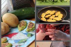 Reibekuchen mit Zucchini für Babies und Kleinkinder #breifrei #BLW