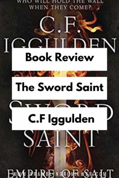 Book Review: The Sword Saint by Conn Iggulden An epic finale to what has been an amazing trilogy. Check out my full book review on the blog. Fantasy Book Reviews, Fantasy Books To Read, New Fantasy, Fantasy Series, Love Can, Man In Love, Historical Fiction, Book Recommendations, Read More