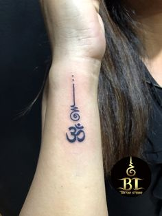 Best 88 Hindu Tattoos - Ideas Explained Step by Step - A Classic Choice Unalome Tattoo, Lotusblume Tattoo, Ganesha Tattoo, Mandala Tattoo, Lotus Tattoo, Om Symbol Tattoo, Samoan Tattoo, Polynesian Tattoos, Mini Tattoos