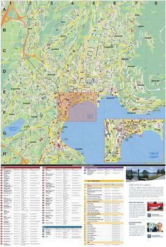 Lausanne city center map Maps Pinterest Lausanne Switzerland