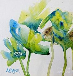 Painting - Spring Flowers 2 by Donna Acheson-Juillet
