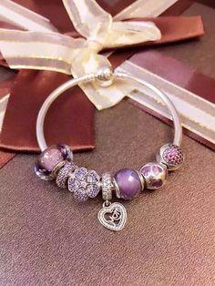 50% OFF!!! $199 Pandora Charm Bracelet. Hot Sale!!! SKU: CB01122 - PANDORA Bracelet Ideas