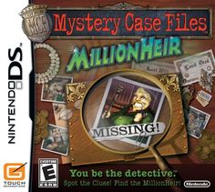Mystery Case Files MillionHeir -- Learn more by visiting the image link.Note:It is affiliate link to Amazon.