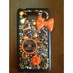 Cincinnati Bengal  football NFL cell phone case  girl.   Contact me if your interested in any phone case Vegasbronco@yahoo.com  Or kik me at : yourphoneisblinging