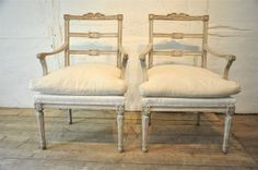 Swedish armchairs period 1850