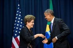 President Obama has worked closely with Brazil's President Rousseff to #ActOnClimate. In April of 2015, the two nations reached an agreement to protect and restore their forests, which help to keep carbon pollution out of the atmosphere. #ActOnClimate #COP21