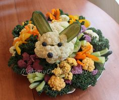 Veggie Easter Bunny